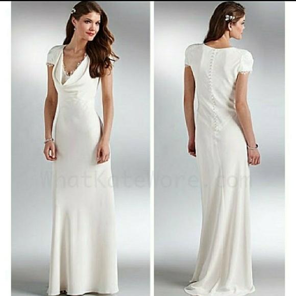 ABS Allen Schwartz Dresses | Pippa Dress In Ivory | Poshmark